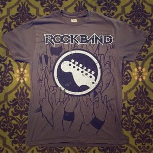 Other - Rock Band Video Game T-Shirt Medium